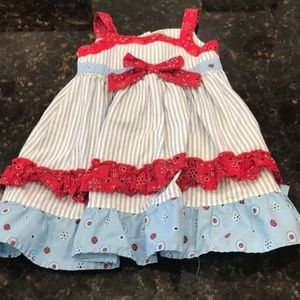 Blueber Blvd. Country picnic perfect dress 24 m